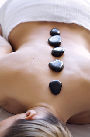 Hot Stone Massage at Taos Healing Arts